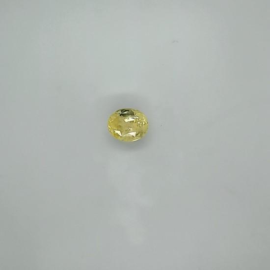 Yellow Sapphire (Pukhraj) 10.49 Ct Certified